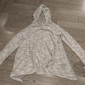 Gray Cardigan by Hollister